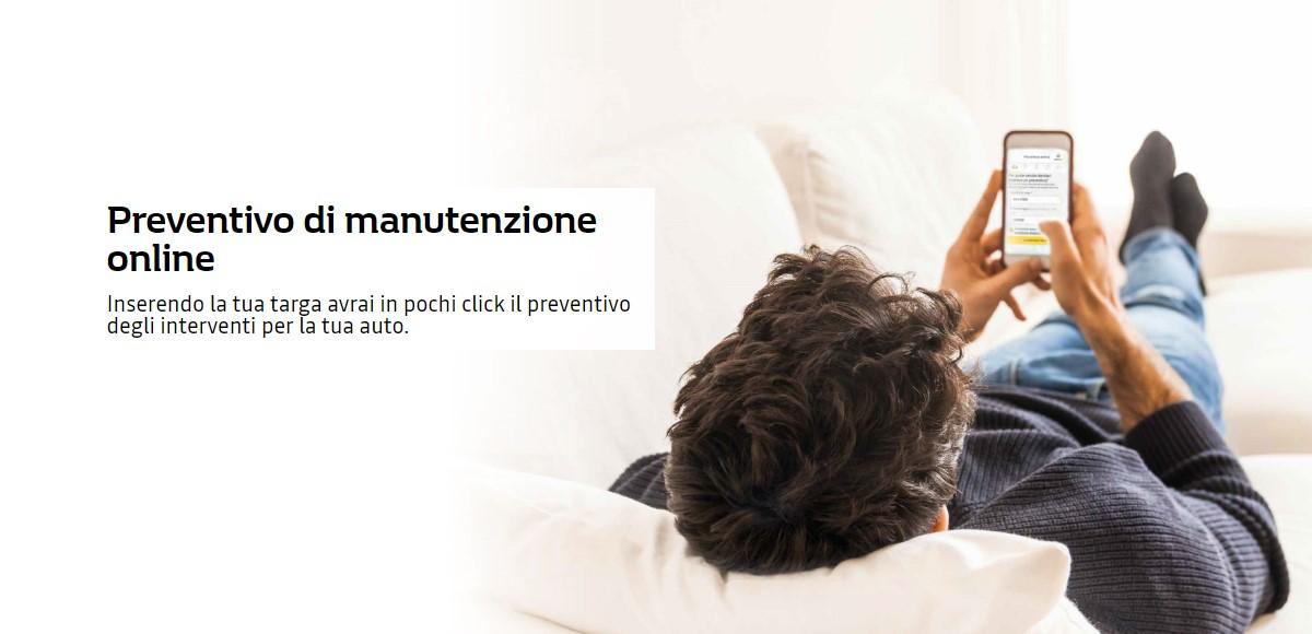 Preventivo di manutenzione online