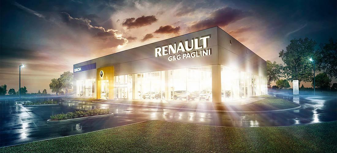 Paglini Dacia Store