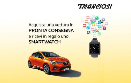 Compra una vettura in pronta consegna e ricevi uno Smartwatch in regalo