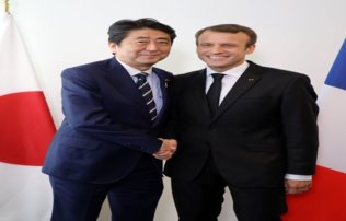 Macron discuterà dell'alleanza Renault-Nissan con Shinzo Abe