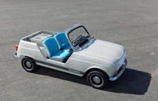 Renault e-Plein Air concept, una Renault 4 a emissioni zero
