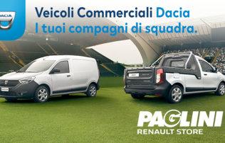 La gamma dei veicoli commerciali Dacia
