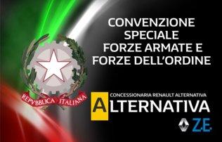 Convenzione fra Renault Alternativa con le forze armate e le forze dell'ordine