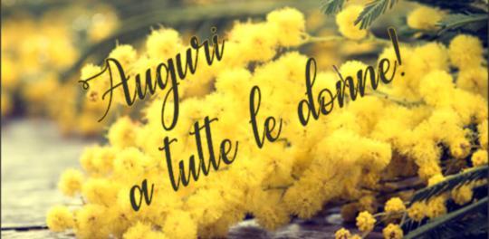 Festa della donna - Mimose - Auguri - Borrauto
