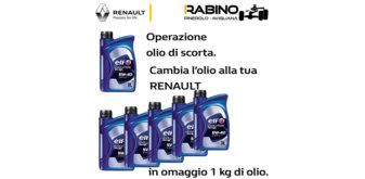 Cambio Olio Renault