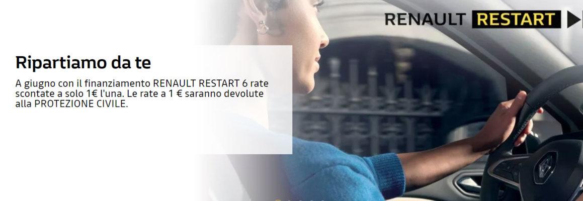 Promozioni auto nuove Renault