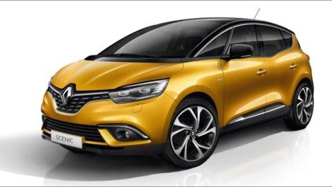 Noleggio Renault Scenic