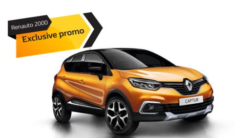 Promo Renault Captur 10 € al giorno