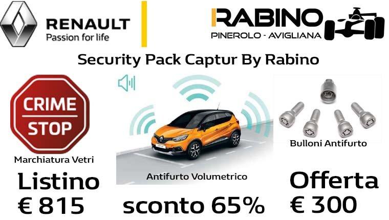 pack security Captur