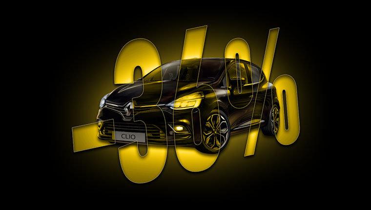 Renault Clio Moschino sconto 36%