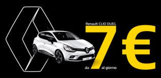 Tua da 7 € al giorno con Renault Way