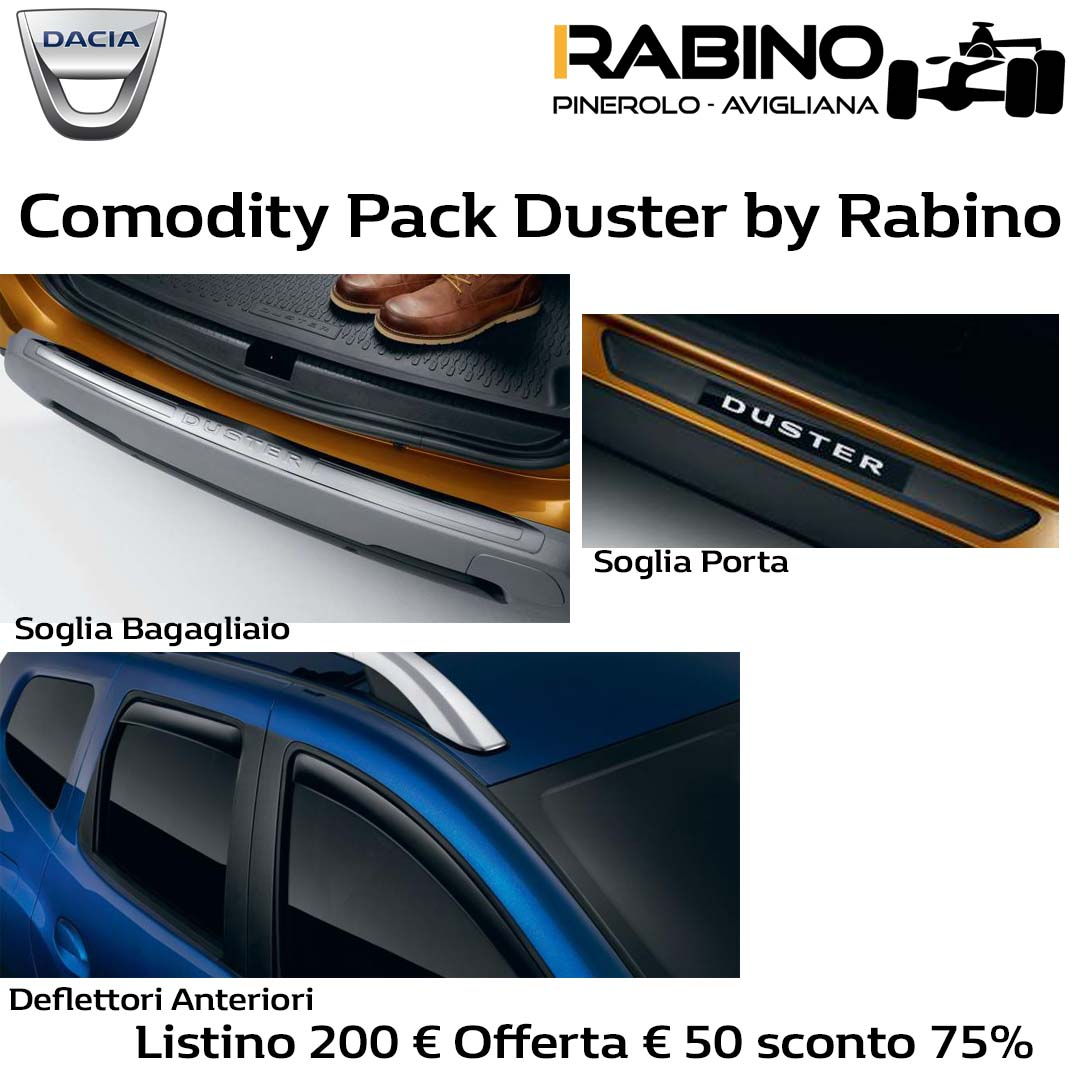 Pack Comodity Duster