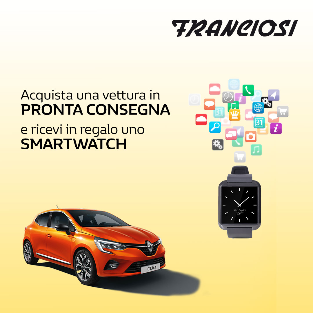 Pronta Consegna con in Regalo uno Smartwatch