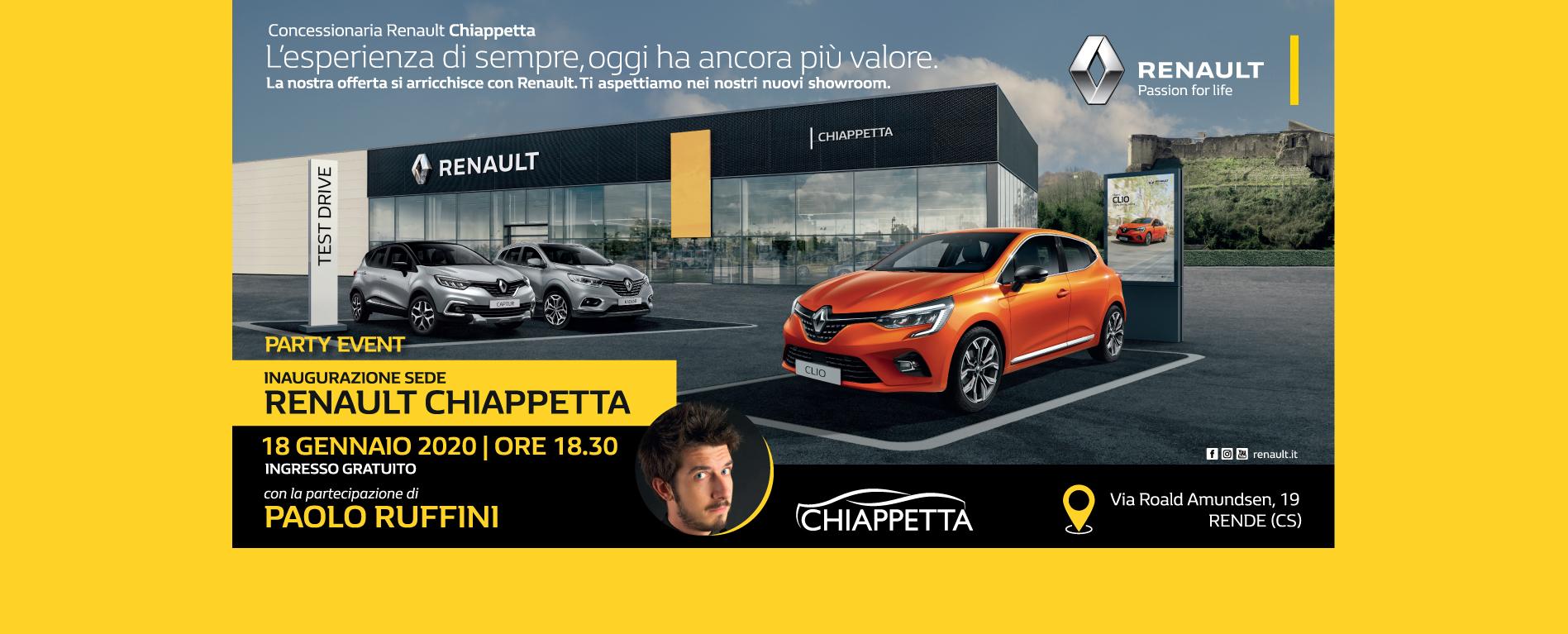 Inaugurazione Renault Chiappetta