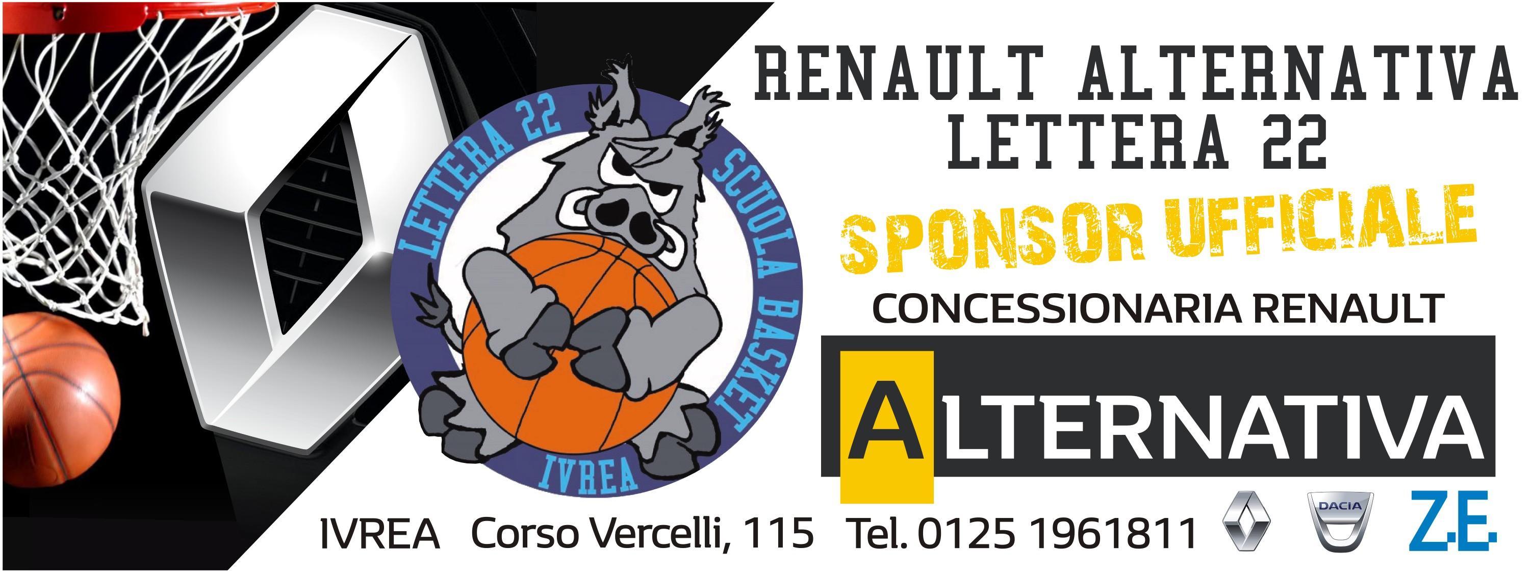 Renault Alternativa Sponsor Ufficiale Lettera22